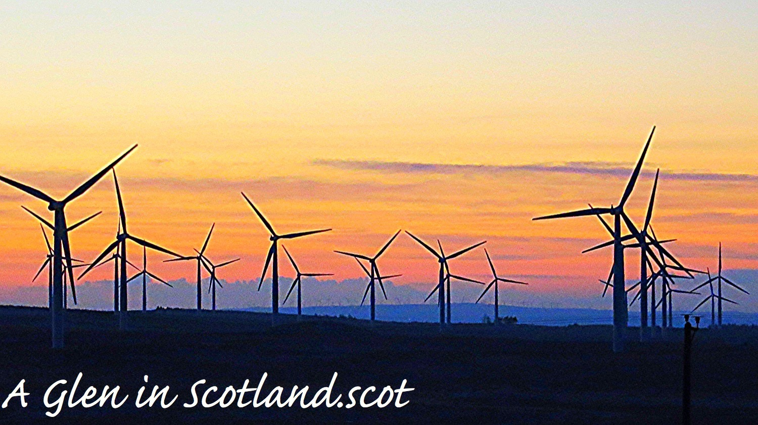 Windfarm / Lanarkshire