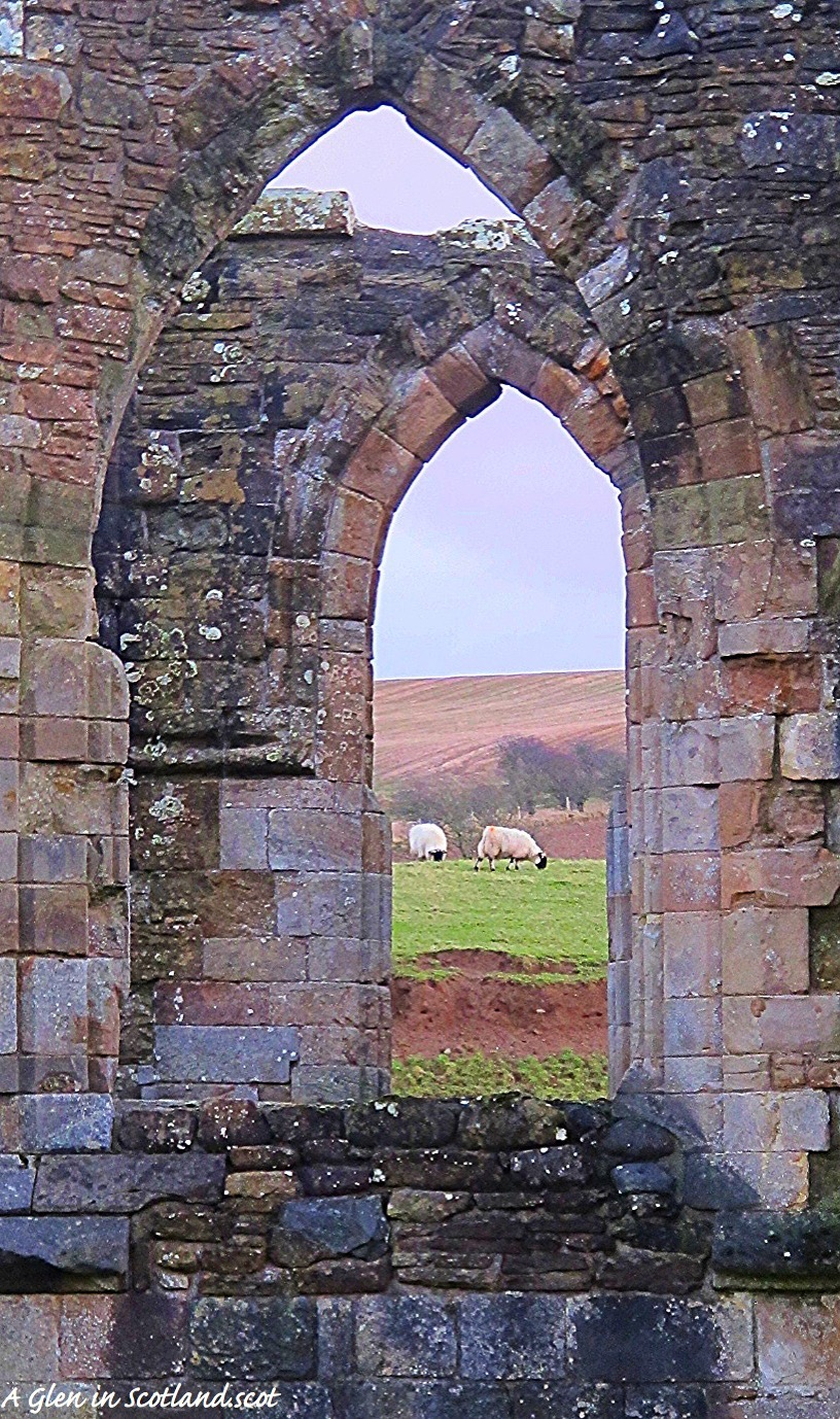 Crossraguel Abbey Ruins Window, Ayrshire
