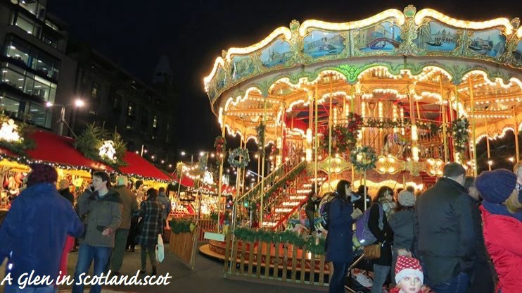 Double Decker Carousel, Edinburgh