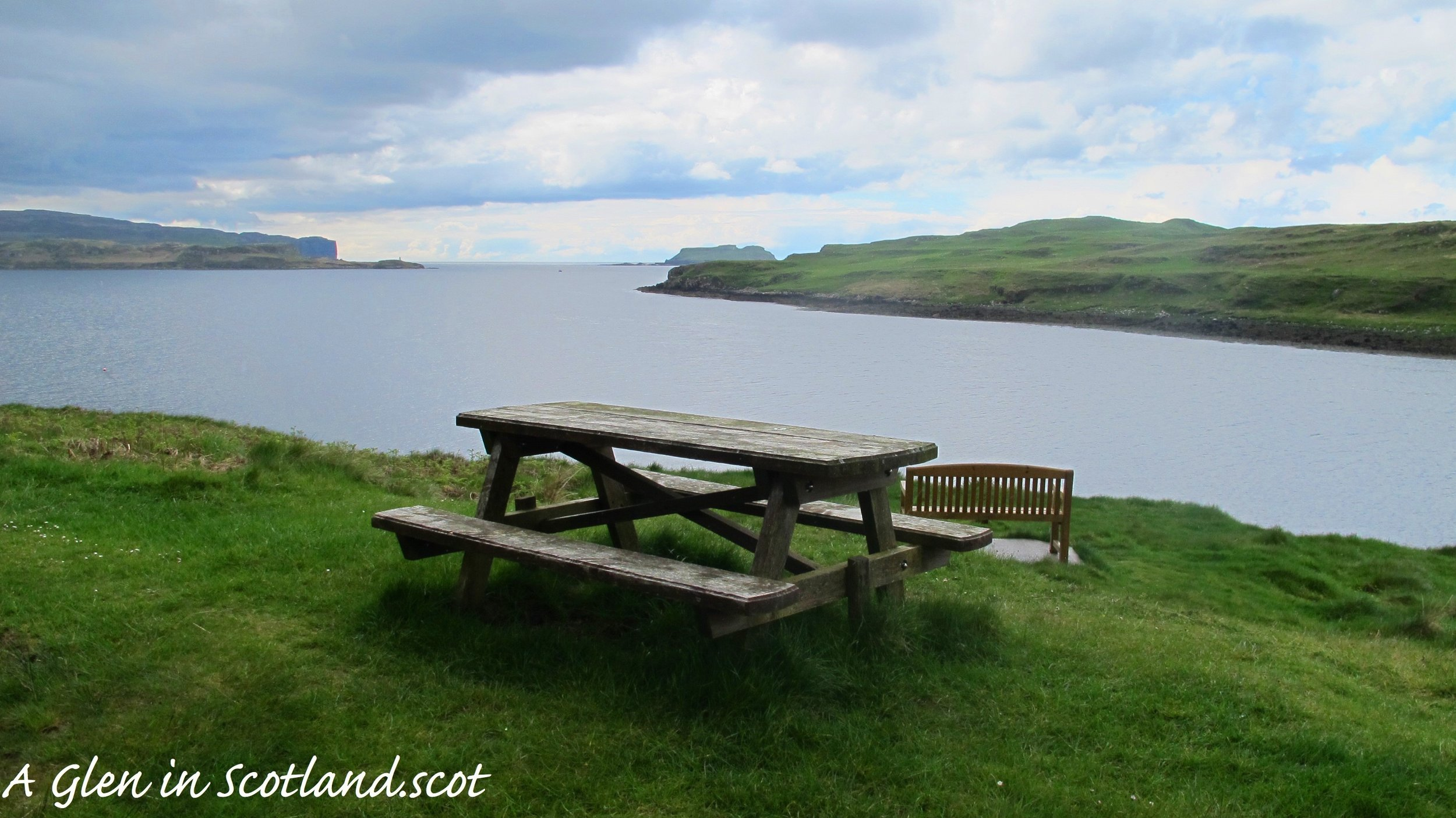 Bench with a View, Isle of Skye