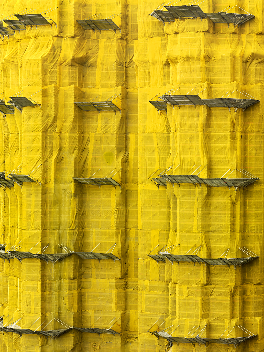 Yellow Cocoon #7, Hong Kong - 2011