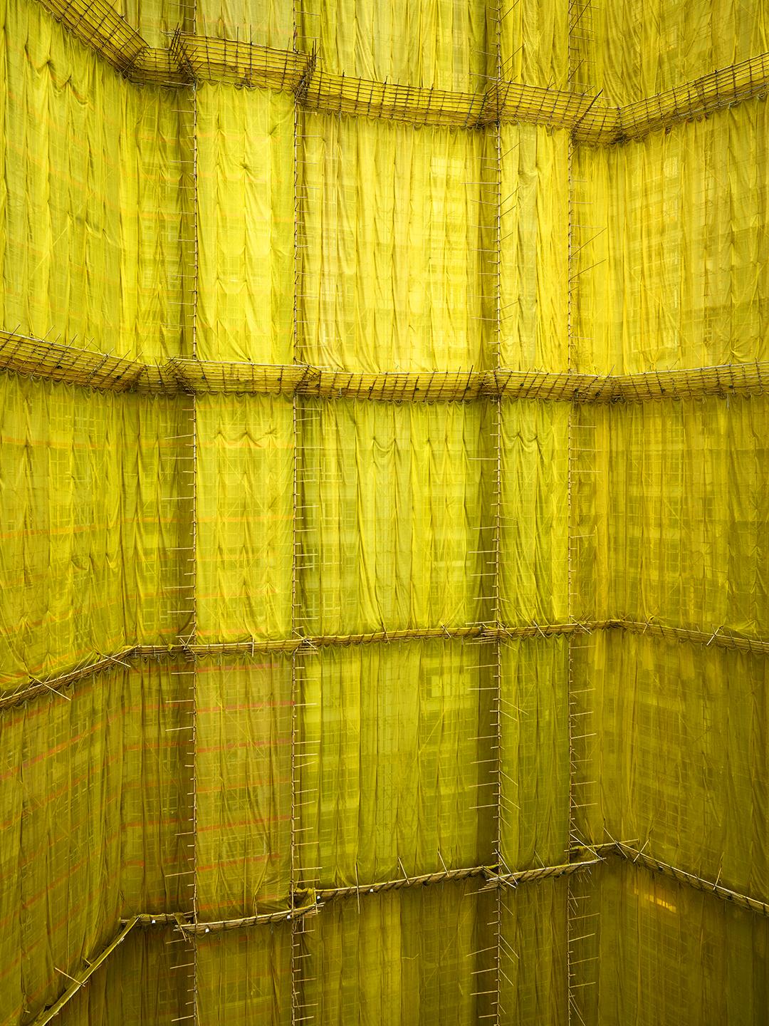 Yellow Cocoon #4, Hong Kong - 2011