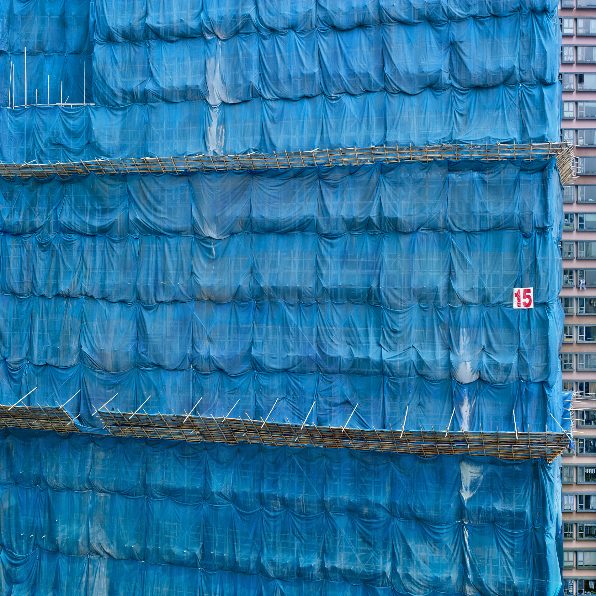 Blue Cocoon #15, Hong Kong - 2015