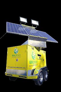 1.5 kWh Solar Light Tower Generator