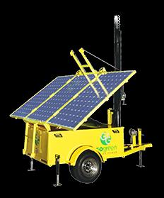 1.2 kWh Solar Light Tower Generator