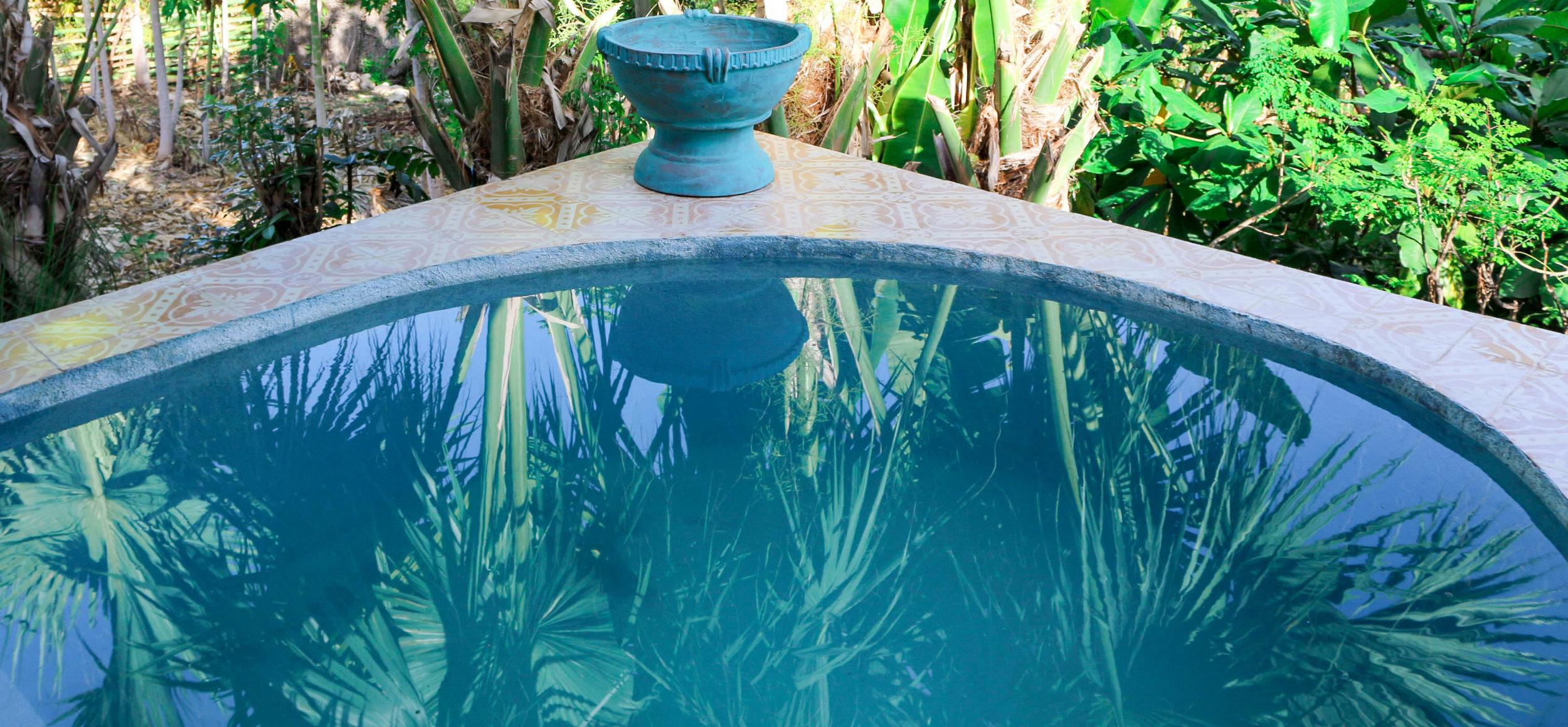 Chic Chateau Haiti Plunge Pool Photo