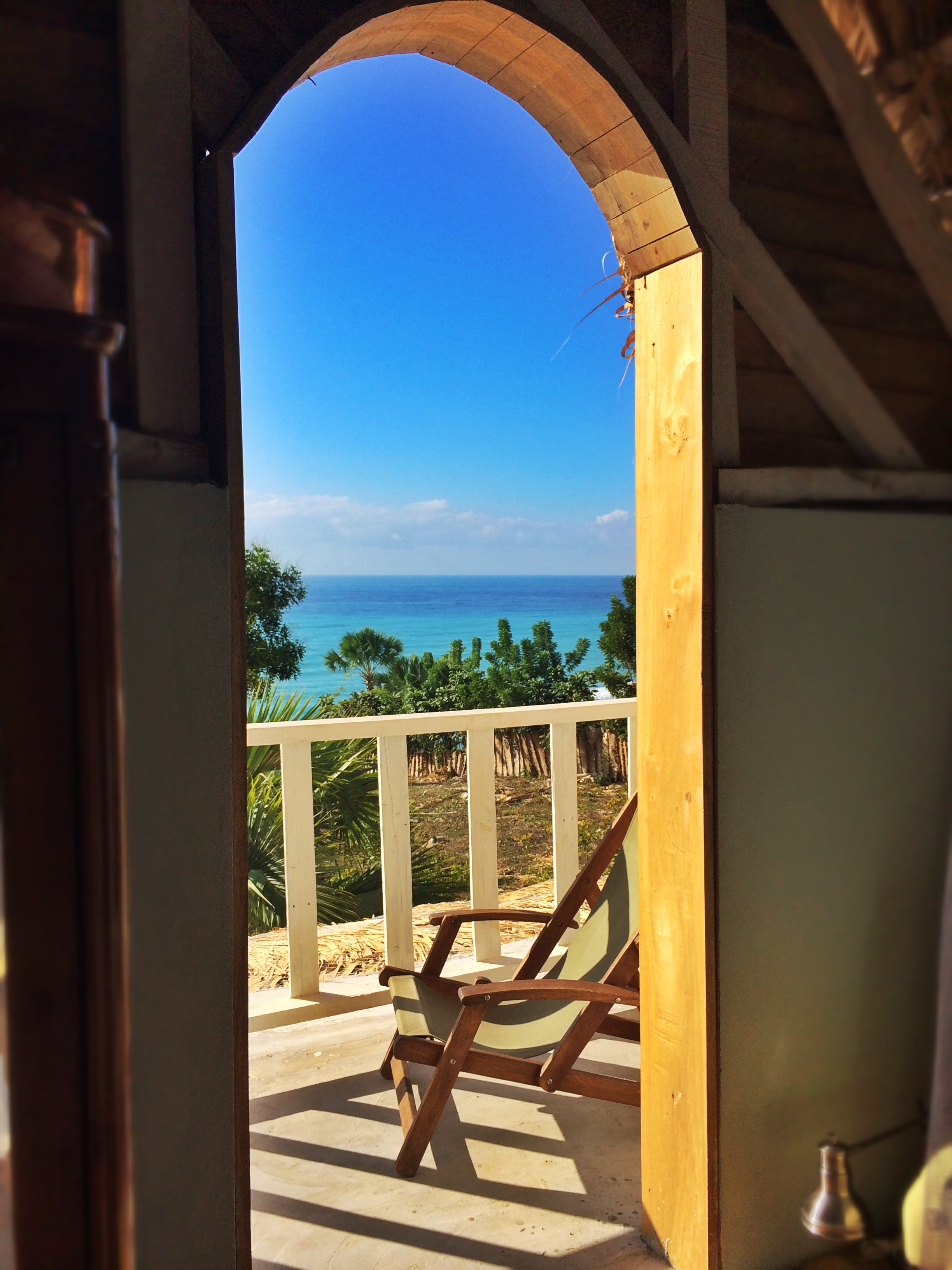 Sea view from Chic Chateau's Master Suite
