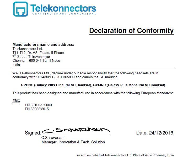 Declaration of Conformity - Galaxy Plus.JPG