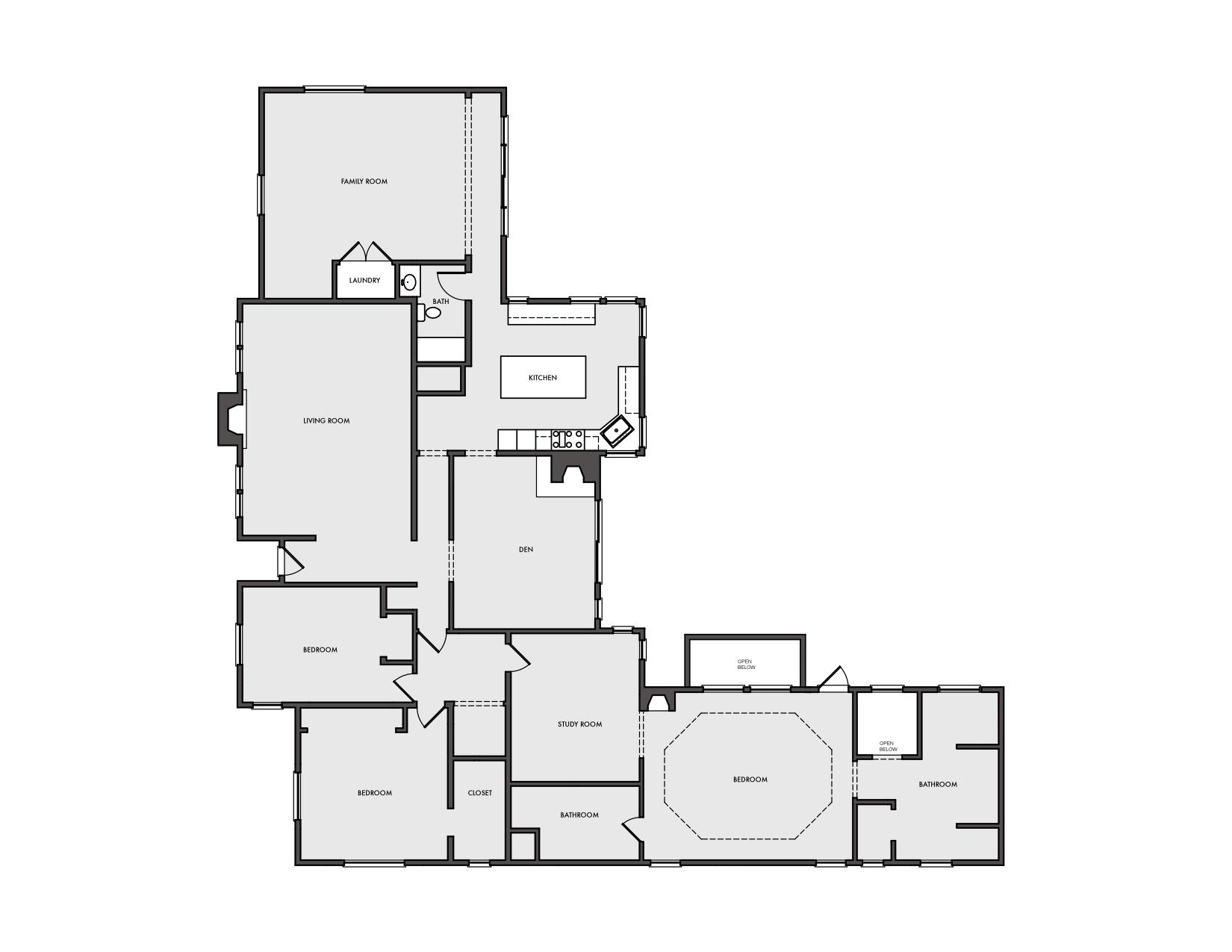 Exsiting Floor Plan