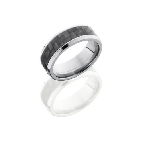 Carbon Fiber and Titanium Wedding Ring