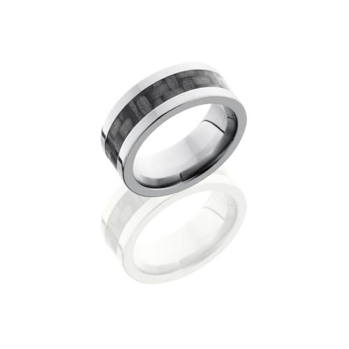 Titanium and Carbon Fiber Wedding Ring