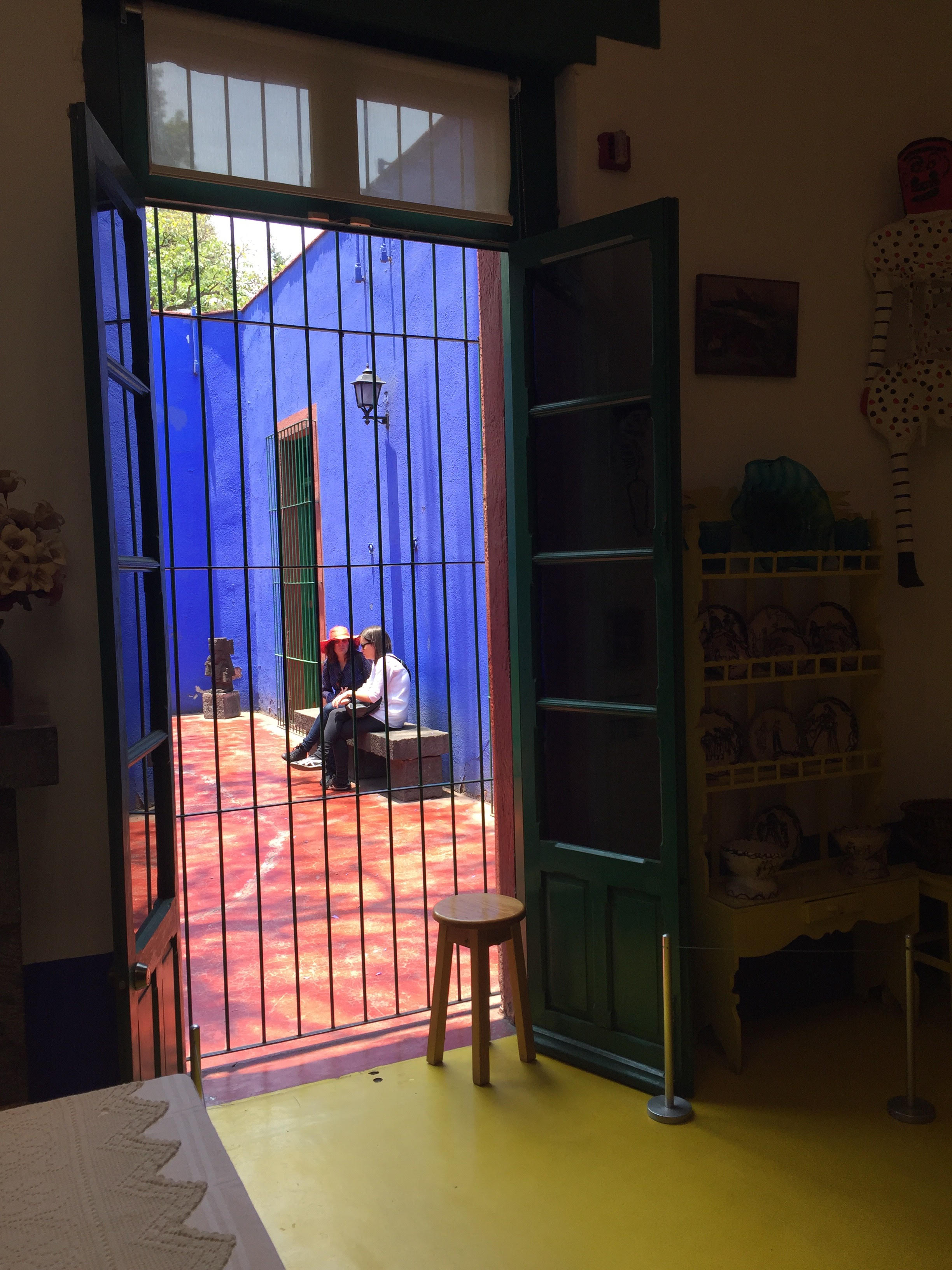 Kahlo's Blue House in Mexico City. Photo by Ursula Rothrock.