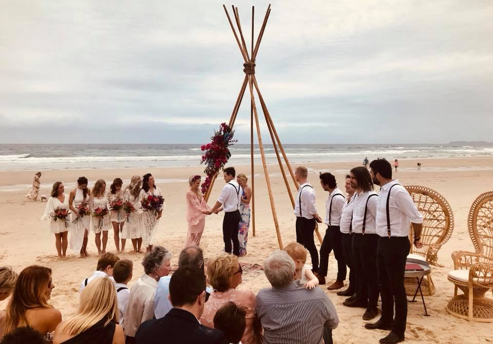 Dan & Sarah - Amanda is a one in a million wedding celebrant!! We honestly felt like we won the lottery having her marry us. She was so easy, relaxed and fun to work with through the lead up - she totally