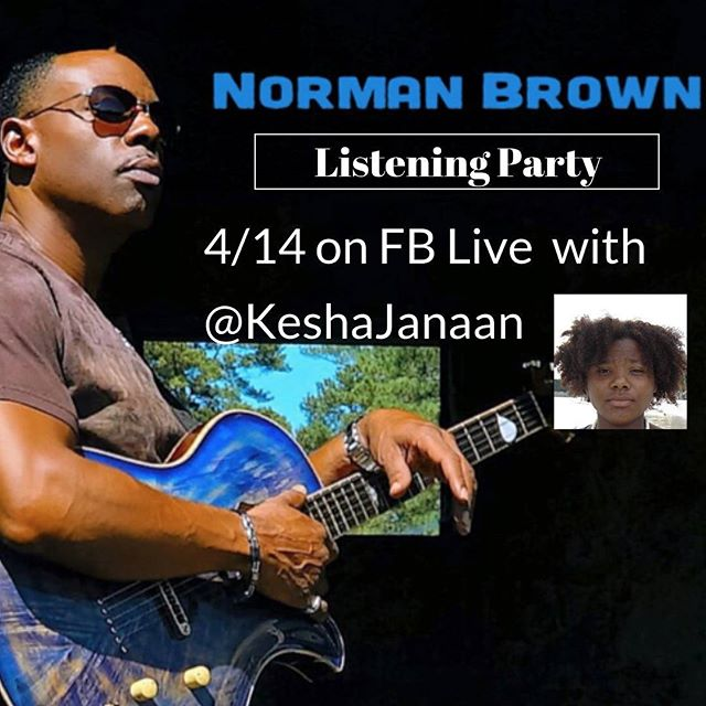 @normanticmusic Listening Party on 4/14 at 2 PST/ 5 EST with @keshajanaan To listen go to facebook.com/keshajanaan