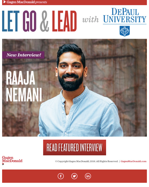 Leadership 2.0: Chicago Entrepreneurs - Overview:Leadership Starts at the Sole; a ready-to-publish profile on a Chicago entrepreneur -- BucketFeet CEO, Raaja Nemani.