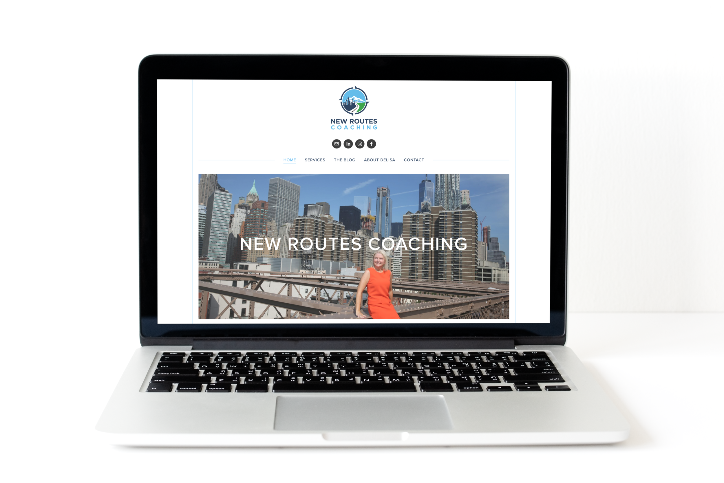 New Routes Coaching - Website design