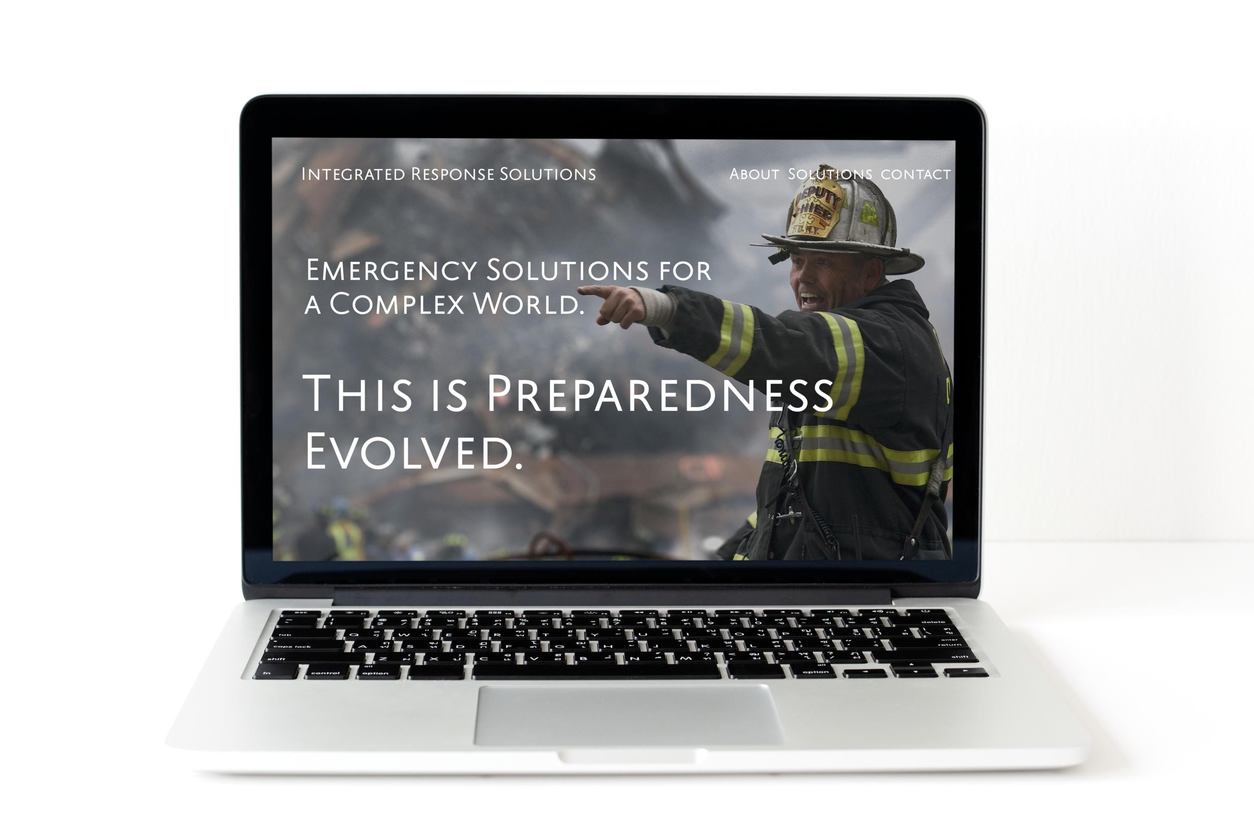 Integrated Response Solutions - Website design