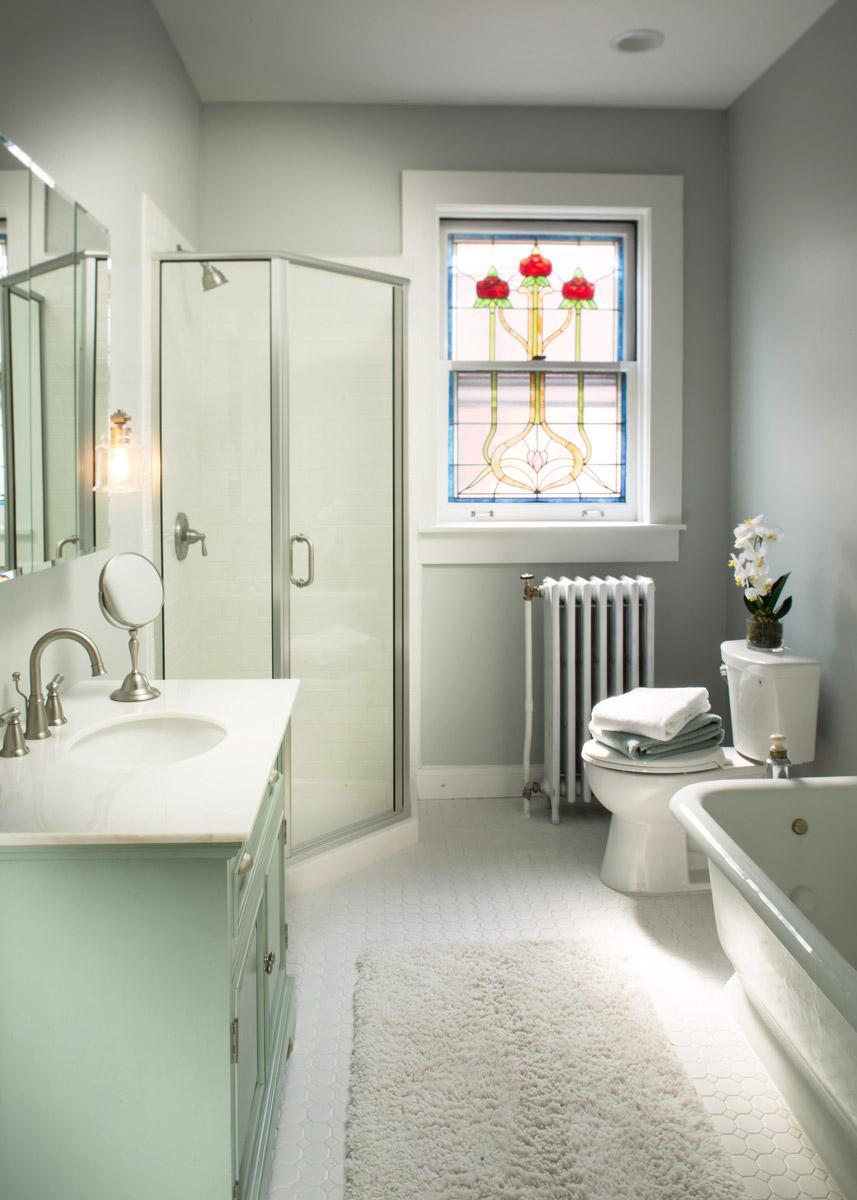Bathroom Remodel, New Plumbing, Electric, Custom Tile