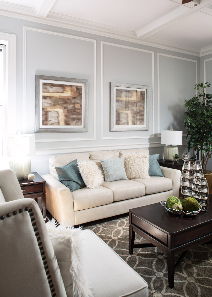 Picture Trim Molding & Painting