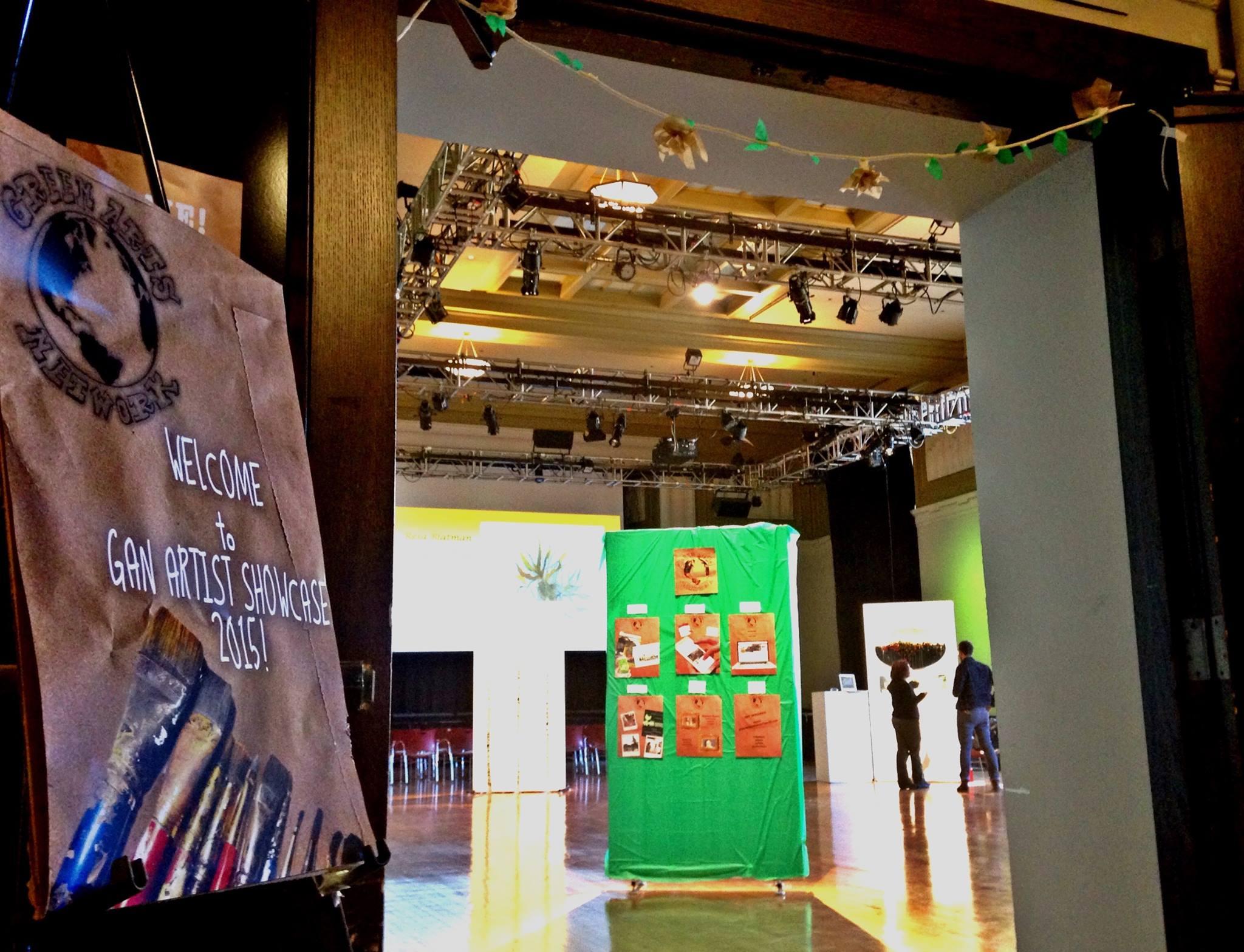 Green Arts Network Artist Showcase 2015 -
