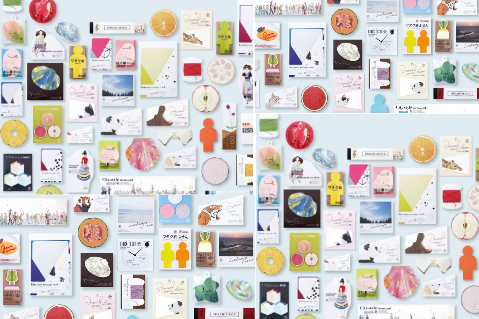 Stylish Japanese Stationery - - Memo Pads -
