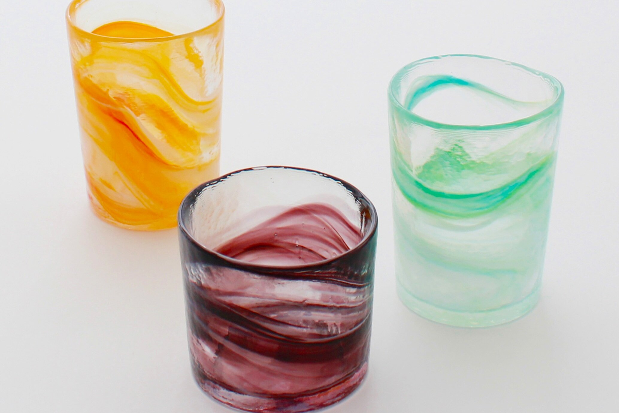 Tsukiyono-Kobo - Glassware and Material Glass (bowls, dishes, glasses and cups)