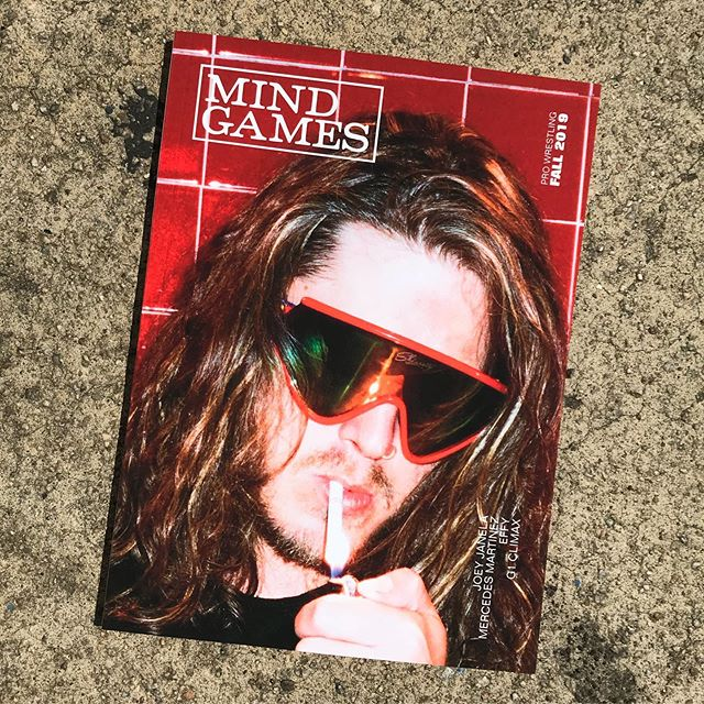 AVAILABLE NOW! Features include: JOEY JANELA, interviews with MERCEDES MARTINEZ and REY HORUS, photo spreads from NEW JAPAN PRO WRESTLING'S G1 CLIMAX in Dallas, TX, RING OF HONOR, AIW, PRO WRESTLING REVOLVER, and thoughts on GCW and second chances. Link in bio! Tell a friend! #prowrestling #magazine #indiemag #indiemags #zine #wrestling #joeyjanela #effy #mercedesmartinez #reyhorus #aew #allelitewrestling #pwg #bola #battleoflosangeles #bola2019 #gcw #indiewrestling