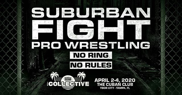 @suburbanxfight coming to @thecollective2020 in Tampa, April 2-4, 2020! Details to come. 😈