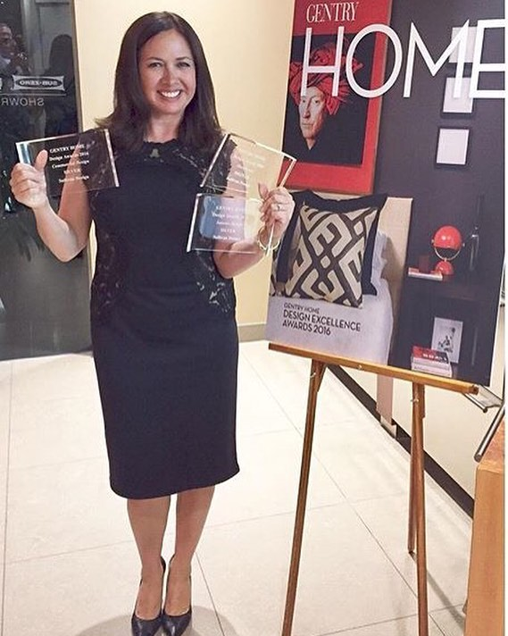 Please join us in congratulating #interiordesigner Linda Sullivan of @sullivandesignstudio for bringing home three @gentry_magazine home awards! #design #awards