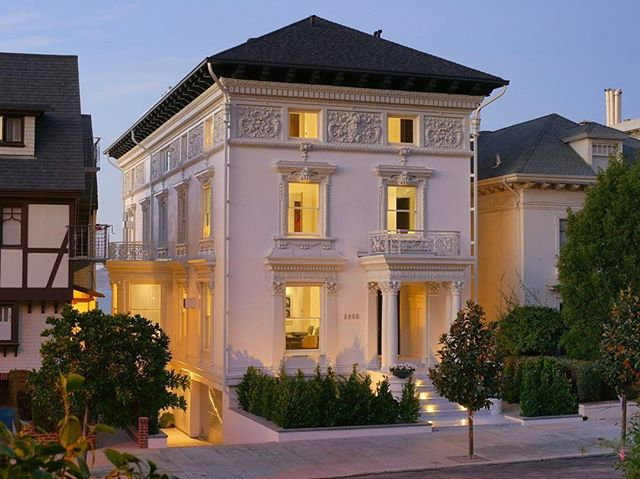 Congratulations @nealwardproperties on the sale of San Francisco's most expensive home! Who wouldn't want to live in this $21.8 million dollar mansion? #realestate #luxury