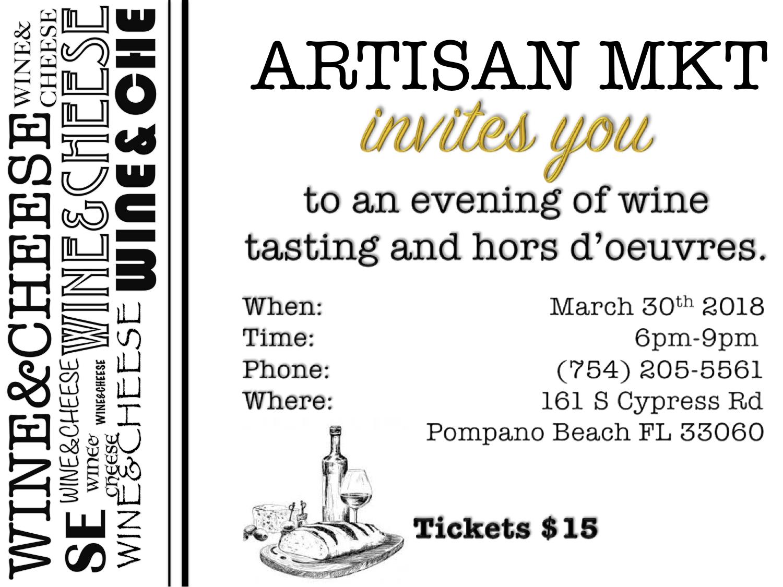 Flyer Artisan Mkt - Wine & Cheese - March 18.jpg