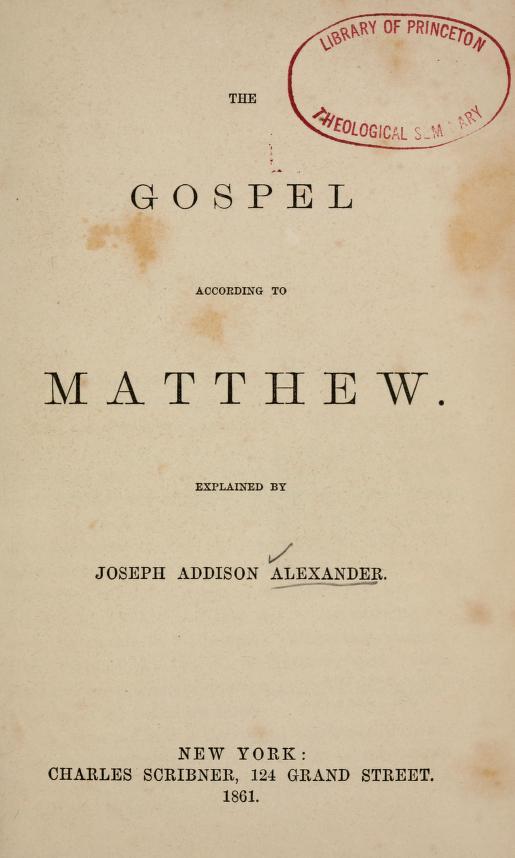 Alexander, Joseph Addison - Matthew.jpg