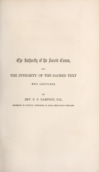 Sampson, Lecture on Canon.jpg