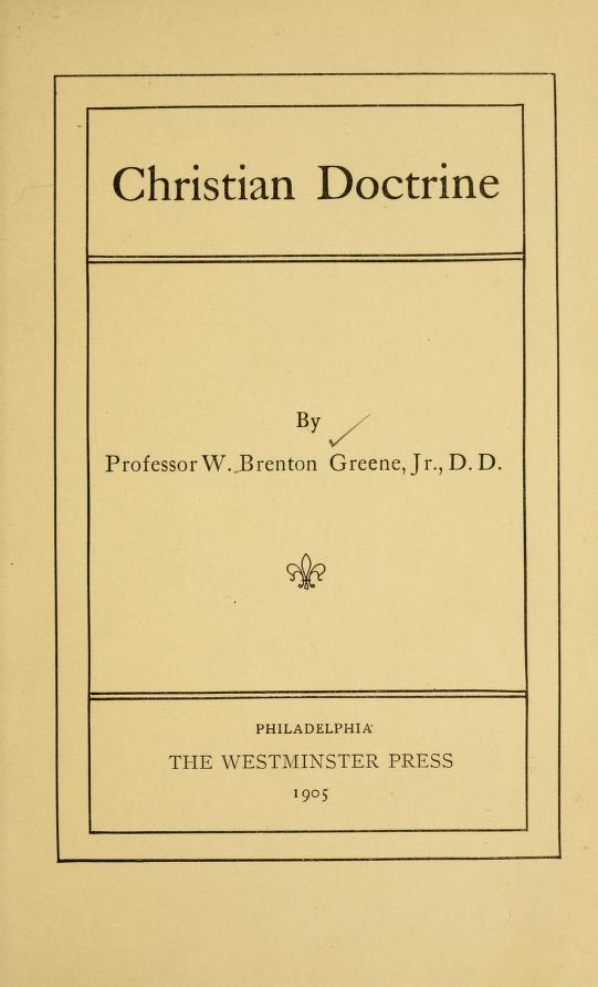 Greene, Christian Doctrine.jpg