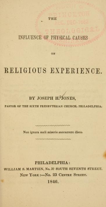 Jones, Influence of Physical on Religious.jpg