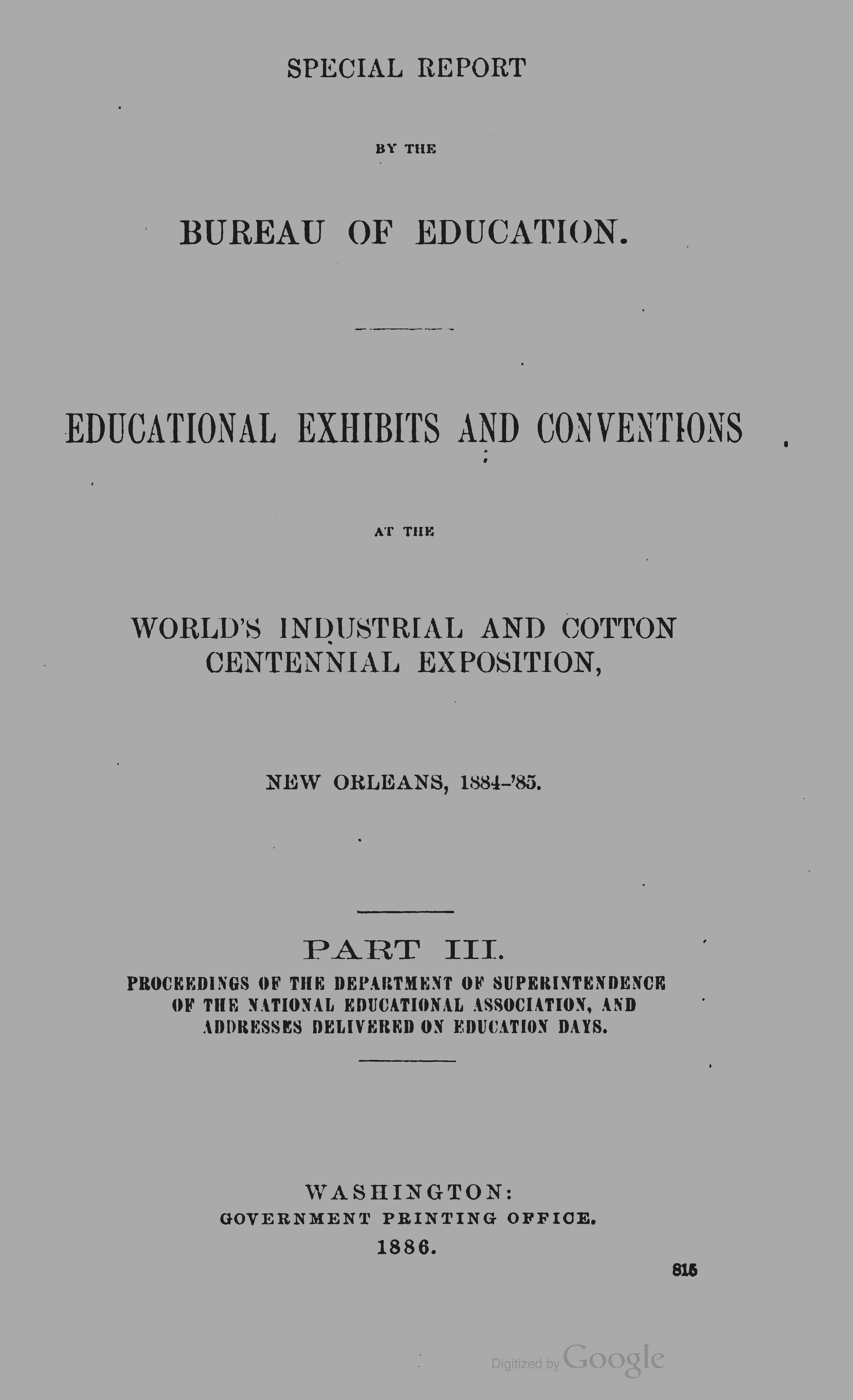 Palmer's address is found in Part III of  this book .
