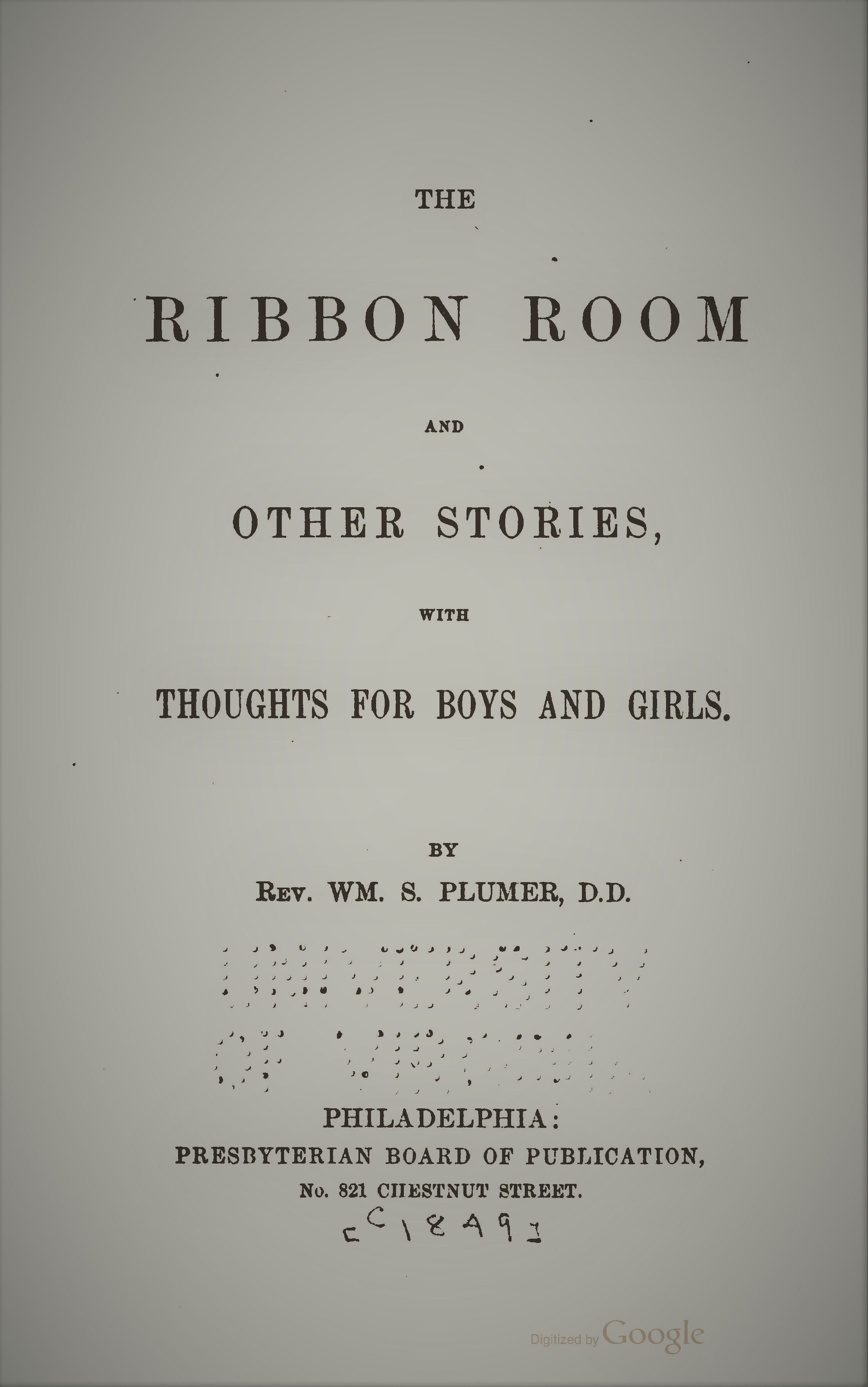 Plumer, The Ribbon Room and Other Stories.jpg