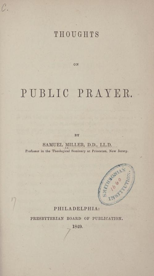 Miller, Thoughts on Public Prayer.jpg