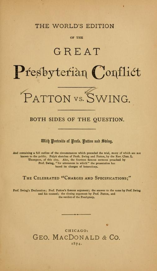 Thompson, Great Presbyterian Conflict.jpg