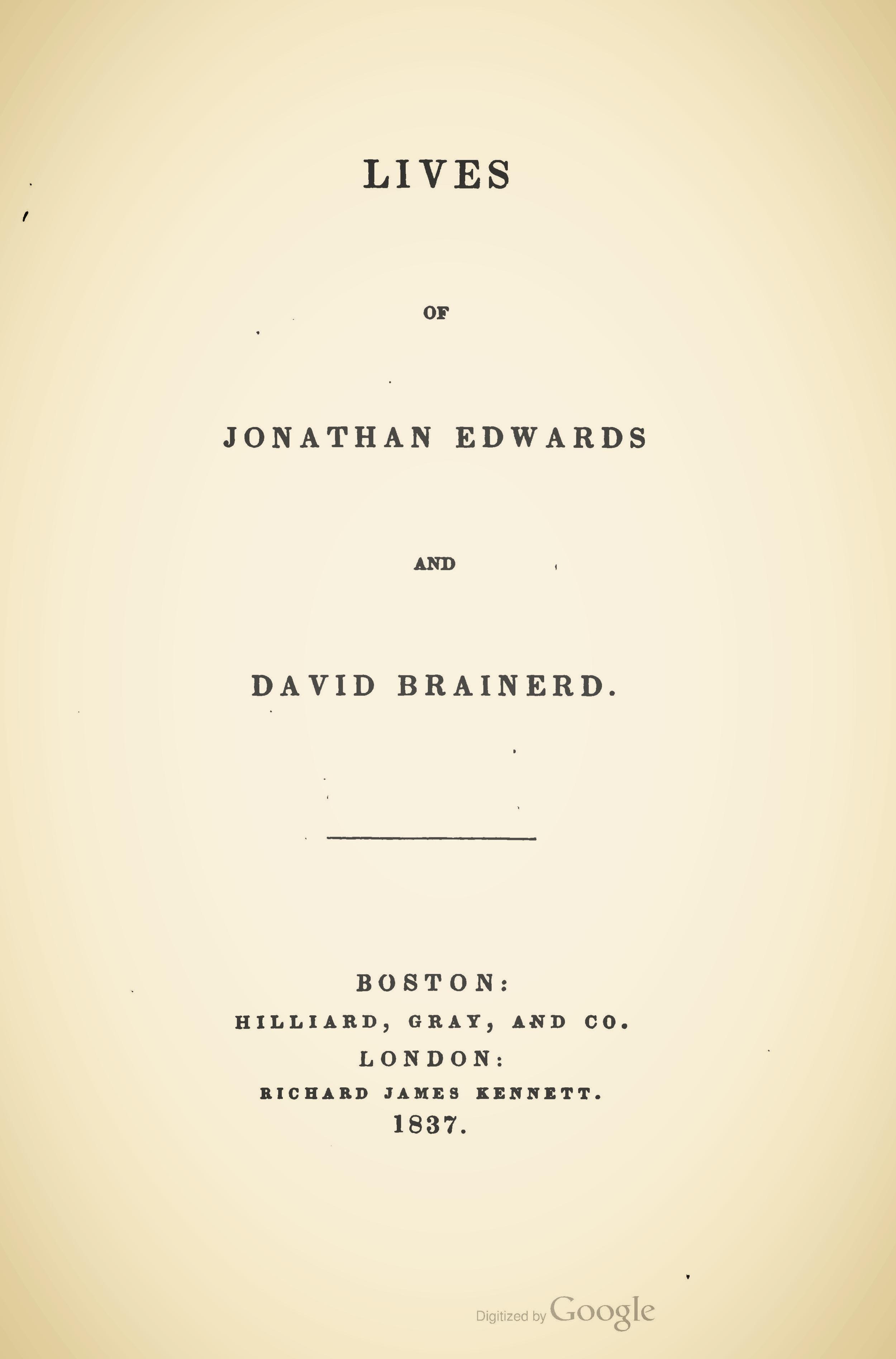 Miller, Samuel, Lives of Jonathan Edwards and David Brainerd Title Page.jpg
