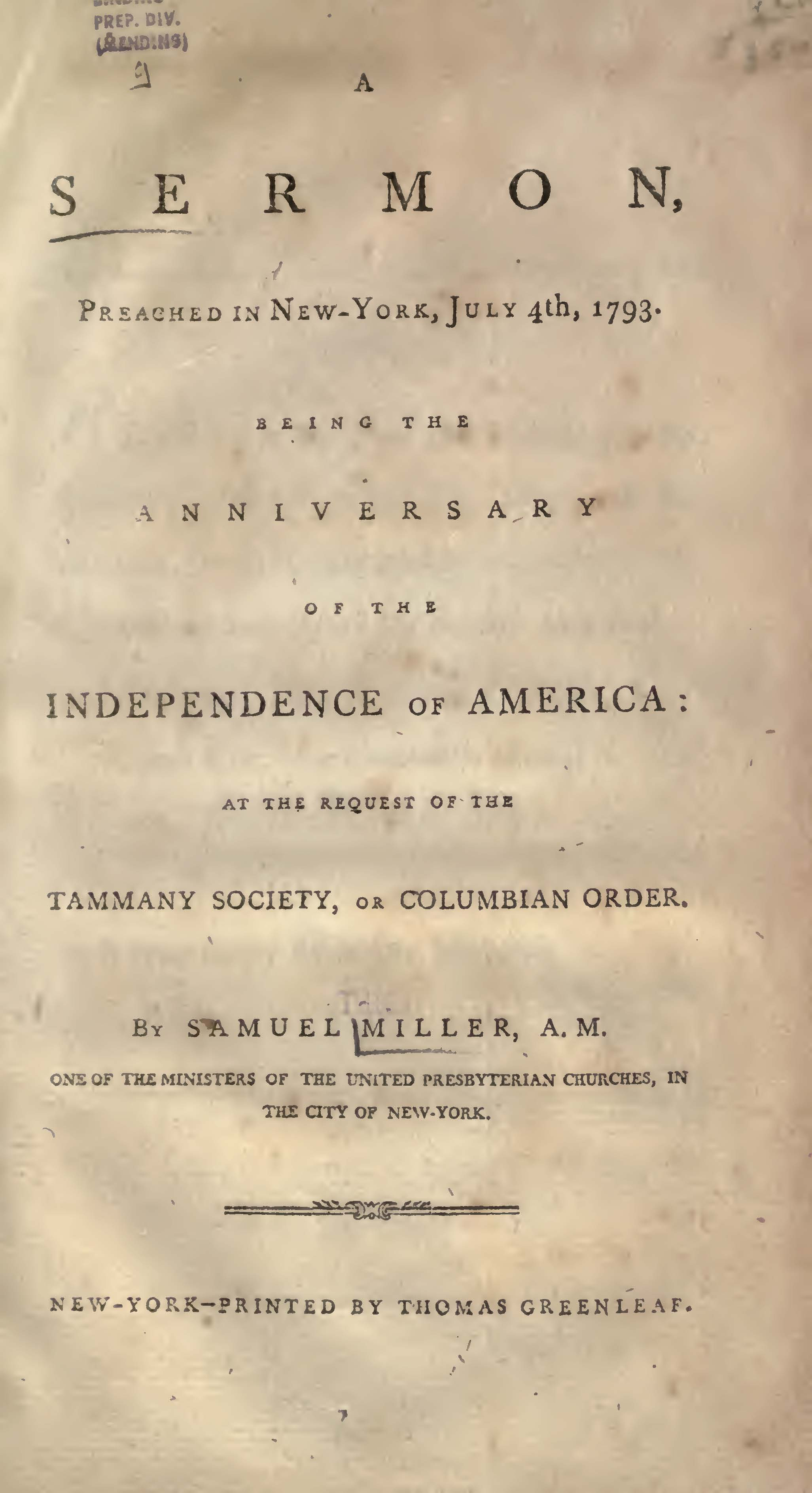 Miller, Samuel, Christianity the Grand Source and Surest Basis for Political Liberty Title Page.jpg