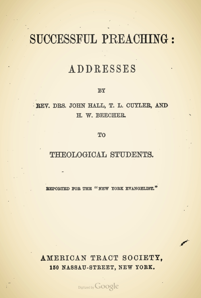 Successful Preaching Title Page.jpg