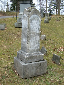 Samuel Miles Hopkins, II is buried at Fort Hill Cemetery, Auburn, New York.