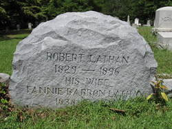 Robert R. Lathan is buried at Rose Hill Cemetery, York, South Carolina.