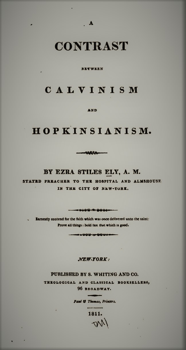 Ely, Contrast Between Calvinism and Hopkinsianism.jpg