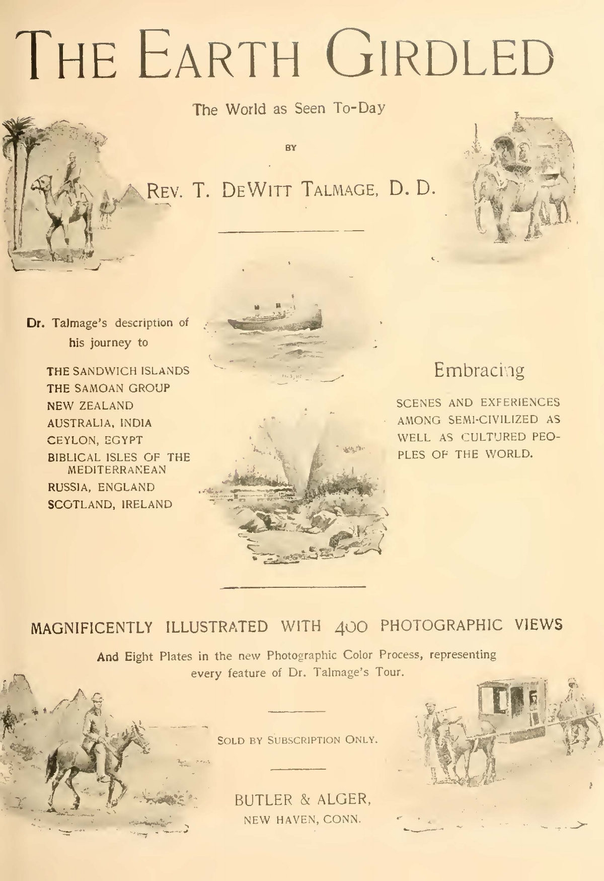 Talmage, Thomas De Witt, The Earth Girdled The World as Seen To-Day Title Page.jpg