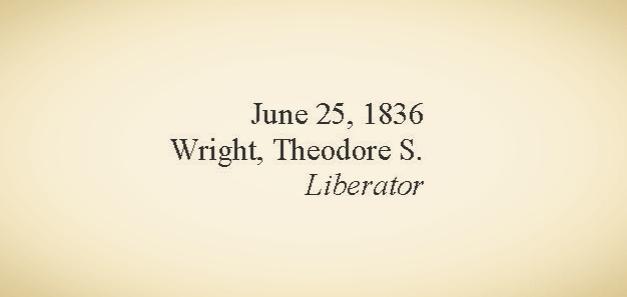 Source: University of Detroit Mercy Black Abolitionist Archives