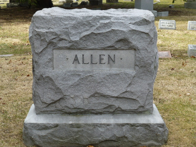 Allen, Horace Newton gravestone photo.jpg