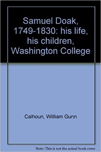 Calhoun, Samuel Doak.jpg