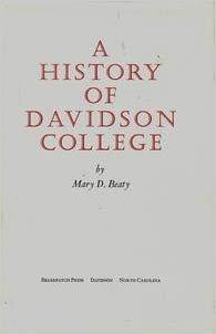 Beaty, History of Davidson.jpg